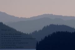 Fjord, Juneau, Alaska. Poème à l\'humain.