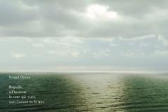 Jour gris sur la MéŽditerranéŽe. Murcia, Espagne, Poème àˆ la mer.