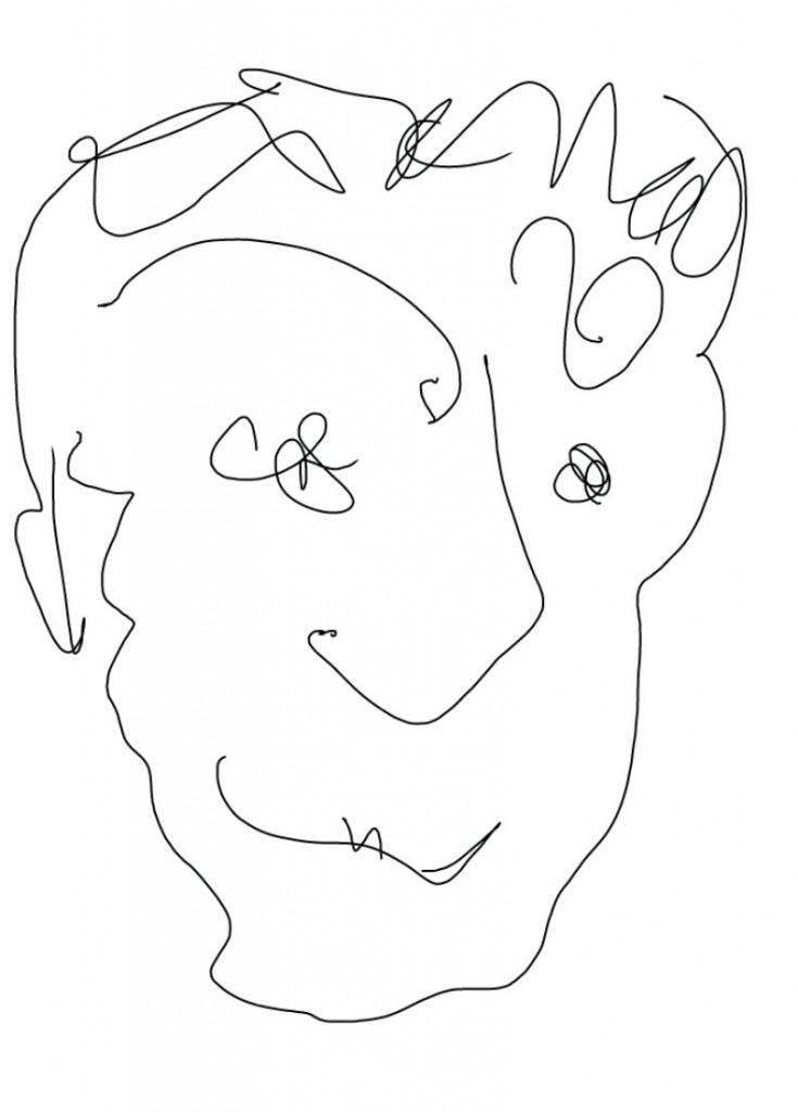 L'assuré, dessin de Robert Fred, Genève, 2013