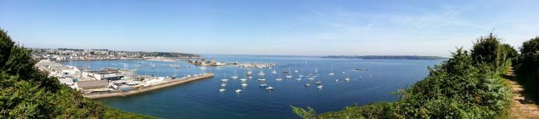 Port de Camaret, juillet 2013
