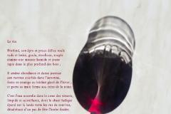 Verre de vin au Coin du Bar, aux Eaux-Vives, ˆ Genève. Poème au vin.