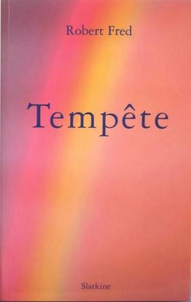 Tempête, couverture, parution: 2009, Éditions Slatkine